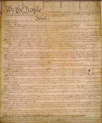 The U.S. Constitution was to Restrain Government and Consolidation of Power