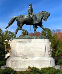 Statue of Robert E. Lee in Charlottesville